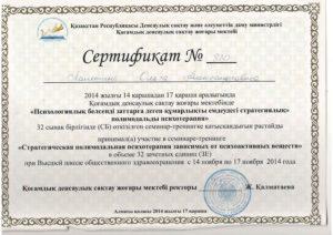 Сертификат Лалетиной О. 2014-3